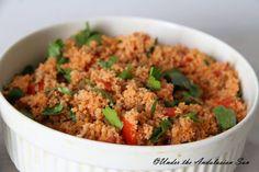 Kisir- Turkish tomato and couscous salad