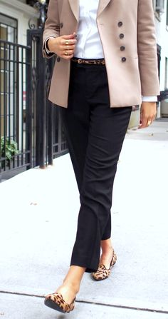 The Classy Cubicle: Leopard Loafers. The fashion blog for professional women in…