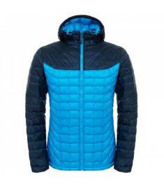 161d745ee1adc Chaqueta de fibras The North Face Thermoball Hoodie Hombre Azul Azul