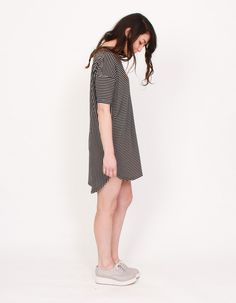 Egypt Long Tee Dress | Just Female