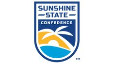 While the Sunshine State Conference has gone through four totally different logotypes since it was founded in all the logos have featured the sun, in one Conference Logo, A Small Orange, Hockey Logos, Creative Embroidery, Sunshine State, Sports Logo, Division, Evolution, Meant To Be