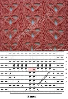 Beautiful knitting needles: 26 thousand pictures found . : Beautiful knitting needles: 26 thousand pictures found … Lace Knitting Patterns, Knitting Stiches, Cable Knitting, Knitting Charts, Lace Patterns, Knitting Designs, Knitting Needles, Knitting Projects, Crochet Stitches