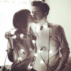 #Cute #Christmas #Engagement photo idea! https://www.facebook.com/StLouisPerfectWeddingGuide