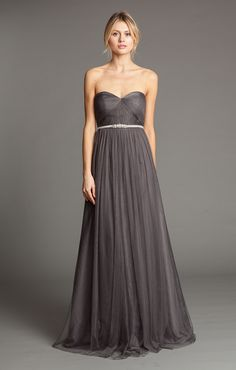 Willow in Soft Tulle; Convertible dress that can be worn at least 17 different ways: Patent pending design.