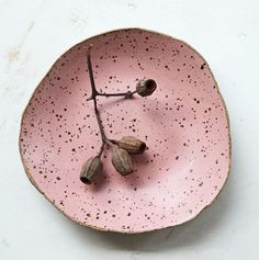 Soap dish ceramic handmade gift bathroom new apartment apartment inauguration house inauguration old pink pink pink