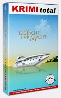 KRIMI total - Die Yacht der Macht (Krimispiel, Dinner, Party, Spiel)