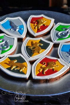 You have to see these cookies at a Harry Potter birthday party! See more party ideas at CatchMyParty.com!