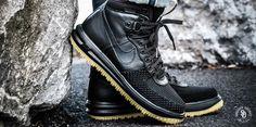 Nike Lunar Force 1 Duckboot Black/Metallic Silver