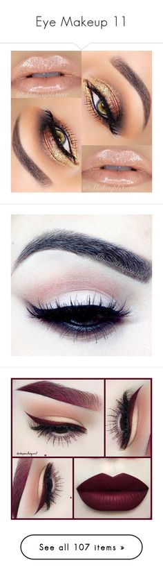 """Eye Makeup 11"" by meranda-joi ❤ liked on Polyvore featuring beauty products, makeup, eyes, lips, beauty, eye makeup, maquiagem, brow makeup, eye brow makeup and eyebrow makeup"