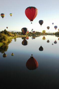Hot air balloon haven :)