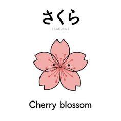 Korean Language 557742735103368902 - さくら // Sakura // Flor de Cerejeira Source by gribouillefofo