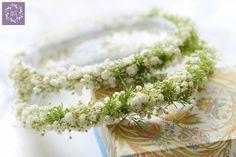ARTEMI - dekoracje ślubne, wianek ślubny, opaska kwiatowa, dekoracje ślubne, florystyka