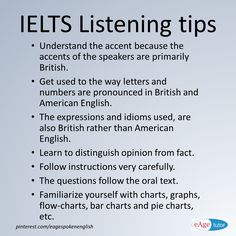 45 Best IELTS Tips images in 2017 | Ielts tips, English