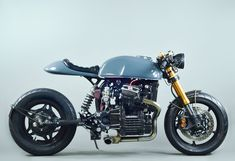 1980 Honda CX500 cafe racer conversion by BBCR Engineering