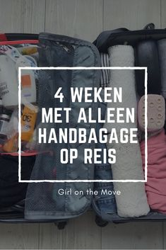 Reizen met alleen handbagage | Girl on the Move | handluggage only, carry on luggage only, handbagagekoffer, traveling light Hand Luggage, Carry On Luggage, Packing Tips For Travel, Travel Bags, Diy Caravan, Lightweight Suitcase, Flying With Kids, Caravan Renovation, Travel Must Haves