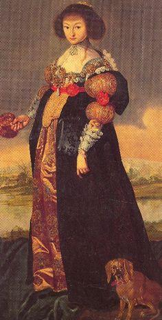 1630s - Magdalena Sibylle von Sachsen by ?