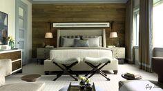 Stunning Wooden Bedroom Walls Design Ideas