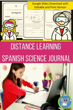 Guide students to create unique experiments. This journal can be printed or used digitally. Students just type in their answers. It is written in the Mexican dialect. It is a great way to help ESL students create a science project while they learn English. It can also be used in a high school Spanish class. High School Spanish, Spanish Class, Learning Spanish, Science Resources, Science Projects, Kimberly Scott, Science Fair Experiments, Scientific Method, How To Speak Spanish