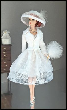"OOAK Fashions for Silkstone / 12"" Fashion Royalty / Vintage barbie /Poppy Parker 