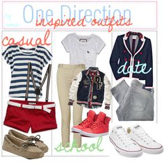 -ONE Direction inspired Outfits♥
