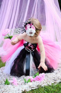 Paris Princess Tulle Dress with Singed by ReiLynnDesignsTutus, $95.00