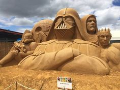 Sand castle level: Jedi 😮💯💯 #sexygeek
