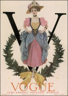 Vogue Cover October 1909