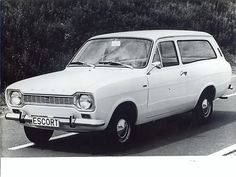 Ford Escort MK1 Estate. My second company car....bought it for £50 + vat, got it home & sent off the tax for a refund £58!