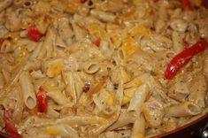 Gracefully Gluten Free: Gluten Free Creamy Chicken Fajita Pasta