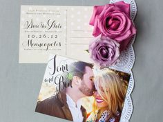 Pretty Save The Date by Lemon & Lavender