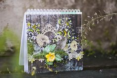 Eco notepad with Wanderlust by Vera Shelemekh