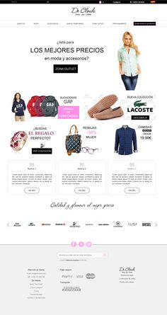 Desarrollo de la tienda online de moda De Cloudi