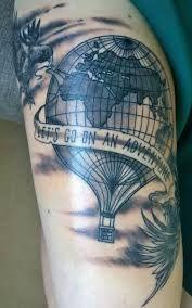 hot air balloon tattoos - Google Search