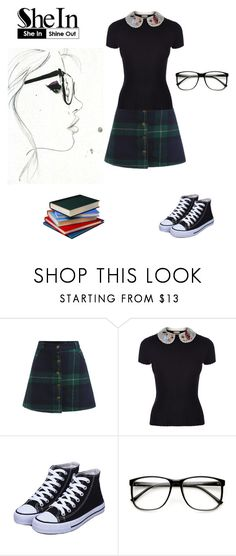 """""""Nerdy"""" by the-lost-kids14 ❤ liked on Polyvore featuring RED Valentino and ZeroUV"""