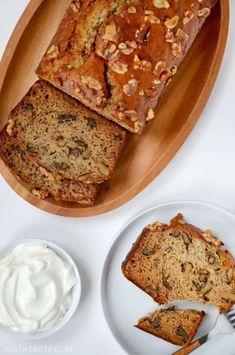 Greek Yogurt Banana Bread Recipe