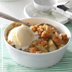 Winning Apple Crisp Recipe -I live in apple country, and a delicious crisp is one good way to use them that doesn't take a lot of time. —Gertrude Bartnick, Portage, Wisconsin
