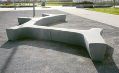 Find out all of the information about the Escofet product: public bench / contemporary / engineered stone PUFF by Arriola&Fiol. Concrete Bench, Concrete Design, Concrete Planters, Bench Furniture, Urban Furniture, Street Furniture, Garden Furniture, Outdoor Furniture, Architecture Concept Diagram