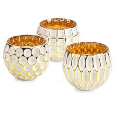Geo Votive from Z Gallerie   ... from the left, 1, 2, 6 for a total of 9