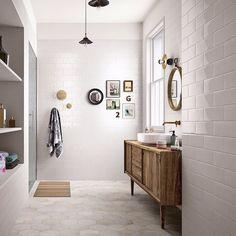 midcentury modern bathroom vanity