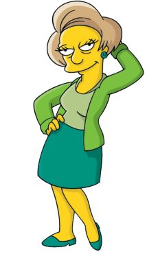 Edna Krabappel retires after the death of Marcia Wallace