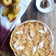 Même si nous ne fêtons pas thanksgiving nous avons préparé une jolie tarte pour ce soir Whishing you all the best, love and peace ♡