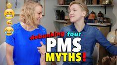 MythBusters! Kati & Hannah debunk 4 common myths about PMS