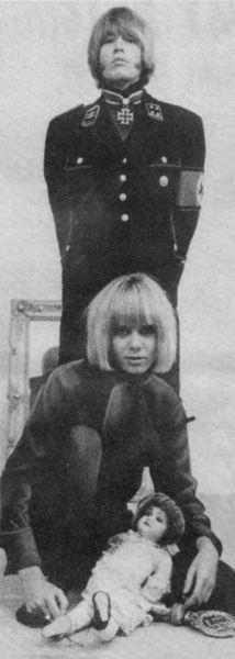 Brian Jones (Rolling Stones) and Anita Pallenberg.