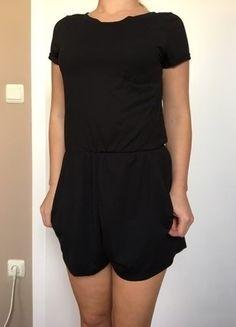 Kaufe meinen Artikel bei #Kleiderkreisel http://www.kleiderkreisel.de/damenmode/jumpsuits/143074919-schwarzer-jumpsiut-von-hm-in-xs