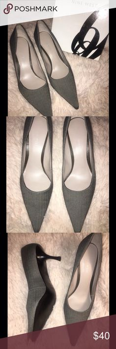 NIB ❗️ Nine West Pointed toe Nine West heels. Comes w/ original box 1 1/12 heel. Never worn❗️ Perfect condition ‼️💙  Smoke Free 🚭 & Pet Free Home Nine West Shoes Heels