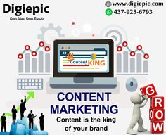 Our creative and passionate team at Digiepic strives not only to compose great content but also provides services for content marketing in Canada, Toronto, Ontario. Content Marketing, Digital Marketing, Toronto, Canada, Fictional Characters, Fantasy Characters, Inbound Marketing