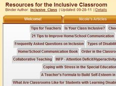 Inclusive Class: A site dedicated to providing resources to create the best possible learning environment for your special needs child.  Inside you will find many resources for teaching, learning and supporting the inclusive classroom. Resources will be updated frequently. Classroom Resources, Teaching Resources, Teaching Ideas, Inclusion Classroom, Coping With Stress, Down Syndrome, Special Needs Kids, Learning Environments, Differentiation