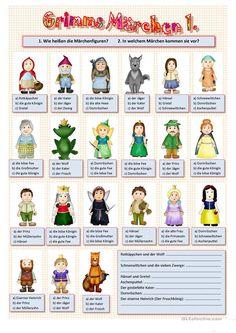 Grimms Märchen vocab quiz for Märchen Languages Online, World Languages, Foreign Languages, German Resources, German Language Learning, Activities For Adults, Learn German, Classroom Language, Language Activities
