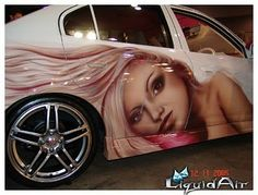 images of airbrushed painted cars | ... blog: Car Airbrush, Modification Airbrush airbrush designs on car