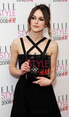Keira Knightley - Elle Style Awards 2008 - Press Room